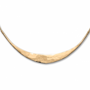 Ed Levin Glimmer 14k Gold Necklace