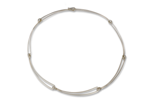 Ed Levin Open Link Sterling Necklace