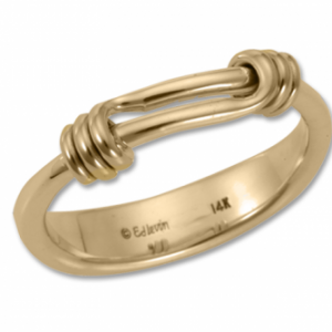 Ed Levin Signature Ring Gold