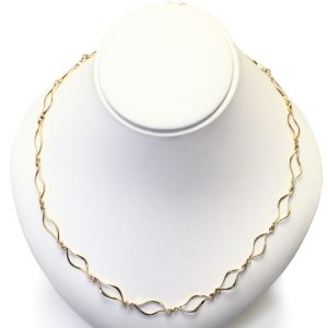Neil Terkelsen Unique Necklace in 14k Gold