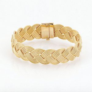 The Touch Mariner Turks Head Cable Bracelet