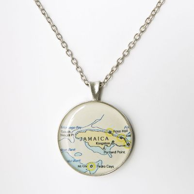 Chart Necklace