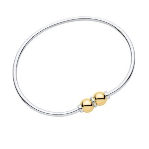 Cape Cod Bracelet Two-tone Double Bead