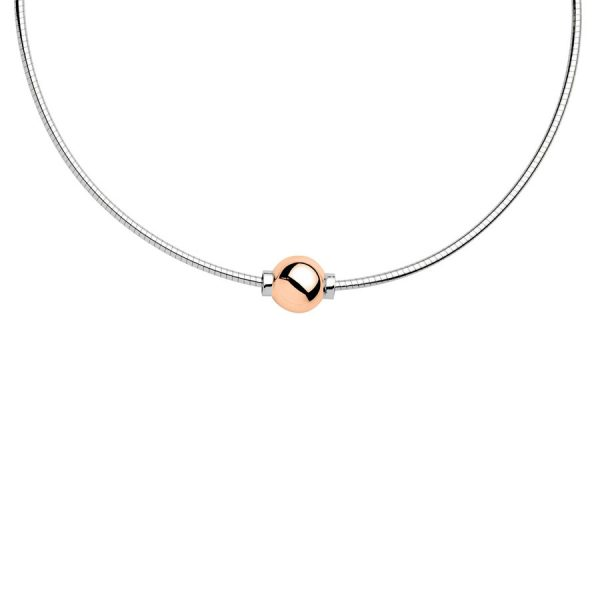 Cape Cod Necklace SS Rose Gold
