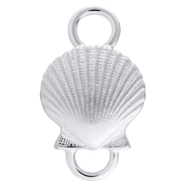 Lestage Petite Scallop Shell in Sterling Silver