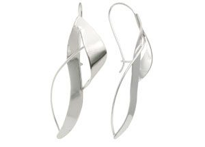 The Touch Fashion Collection French Wrap Earrings