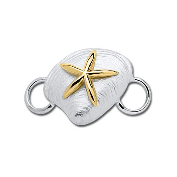 Lestage Clamshell with Starfish Clasp